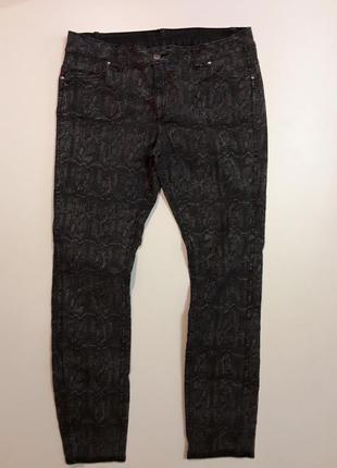 Фирменные двухсторонние джинсы скинни