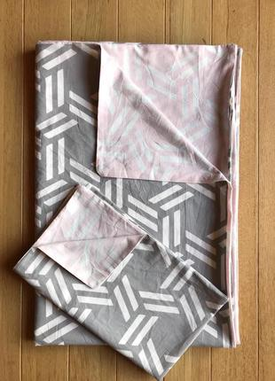Коттоновый комплект постельного белья полуторный, семейный. meradiso