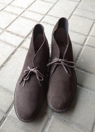 Ботинки мужские clark's, 47 (28,5см)