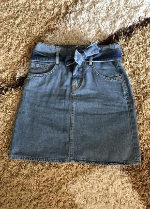 Джинсовая юбка от lc waikiki