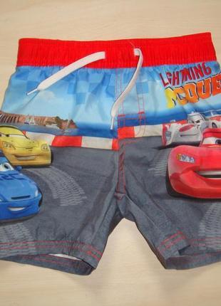 Пляжные шорты 2-3года