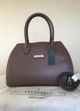 Оригинальная кожаная женская сумка