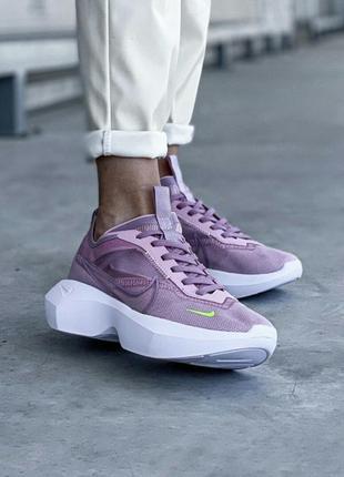 Шикарные сиреневые кроссовки nike vista lite violet lilac кросівки