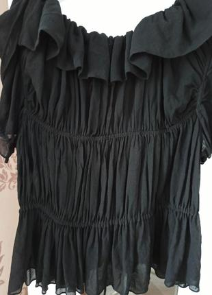 Шовкова блузка -накидка