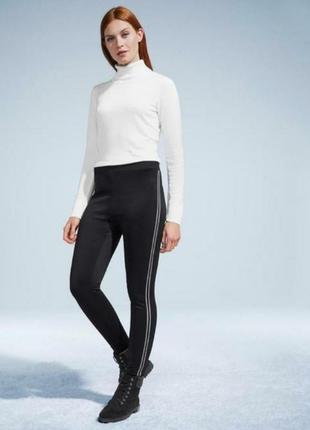 Трикотажные утепленные  брюки tcm thibo
