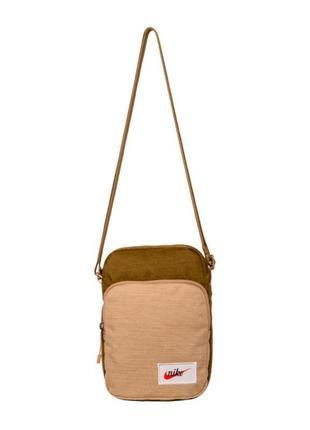 Оригинальная сумка!nike nk heritage smit - label