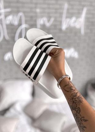 Шлепанцы женские 💥 adidas топ качество 💥 шльопанці адидас