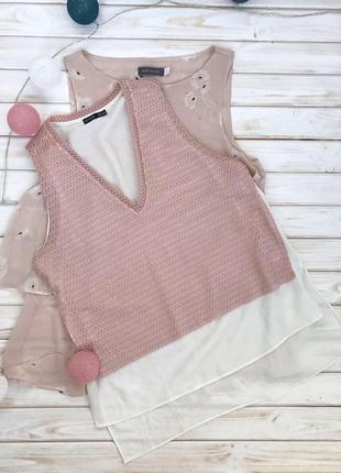 Очень стильная крутая блуза zara