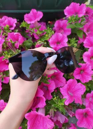 Солнцезащитные очки модные очки черные очки без оправы имиджевые очки