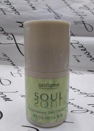 Шариковой дезодорант soul от oriflame  50мл для мужчин.