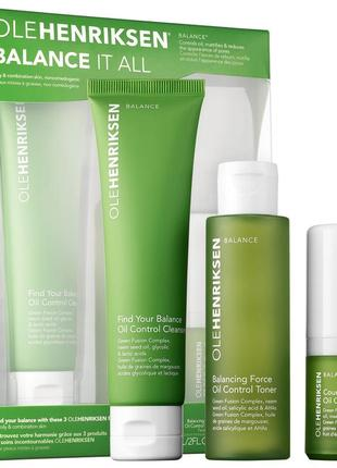 Набор по уходу за кожей olehenriksen balance it all™ essentials set