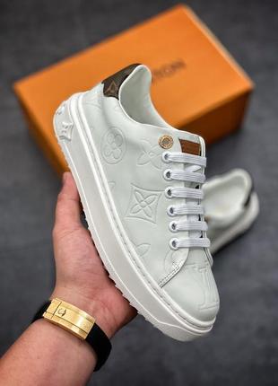 Кроссовки, кеды louis vuitton белые (луи виттон, обувь, кеди, кросівки)