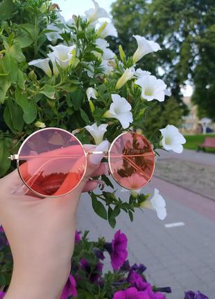 Стильные круглые  солнцезащитные очки, хит сезона, бестселлер 2020 в наличии