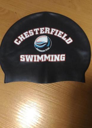 Шапочка для плавания chesterfield тёмно-синяя