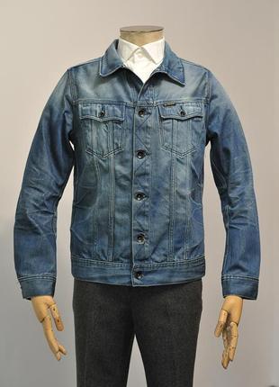 Джинсова куртка g-star raw slim tailor - l