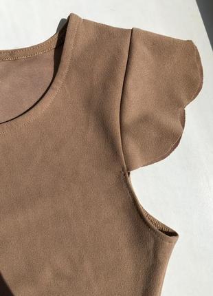 Нюдовое платье4 фото