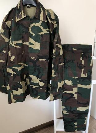 Камуфляжный костюм демисезонный