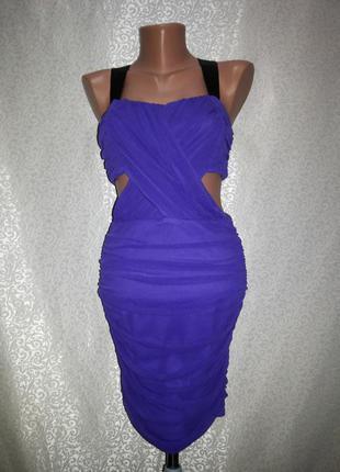 Шикарное летнее секси платье asos размер с.