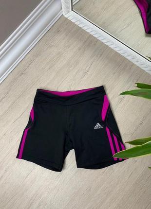 Adidas женские шорты велосипедки капри адидас спорт черные оригинал
