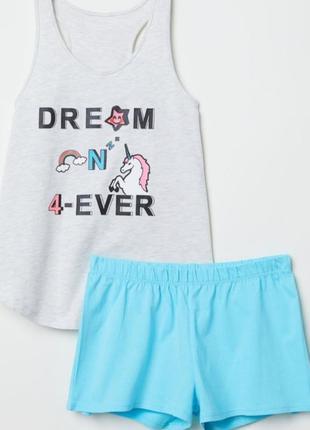 Пижама комплект hm h&m sale1 фото