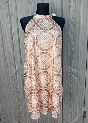 Вечернее платье с пайетками missguided