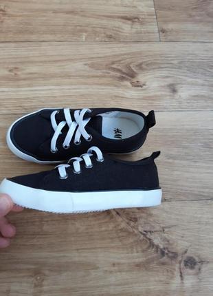 H&m новые детские кеды слипоны кроссовки