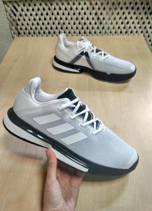 Кроссовки для тенниса adidas solematch bounce g26602 оригинал