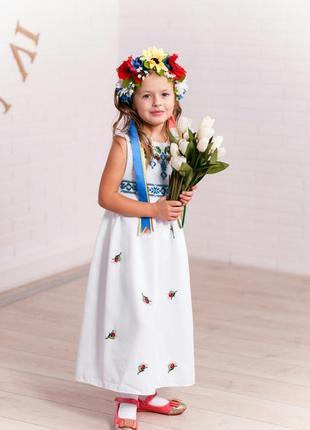 Платье-вышиванка.
