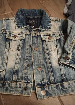 Куртка джинсова next