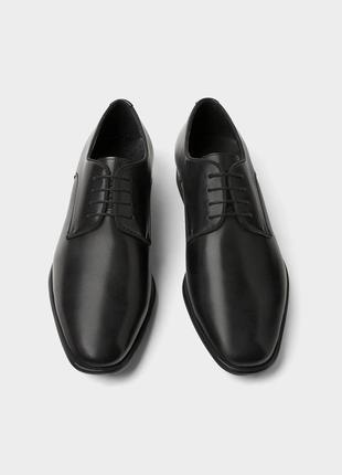 Кожаные туфли zara man !
