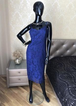 Платье/сарафан missguided, кружевное, размер м