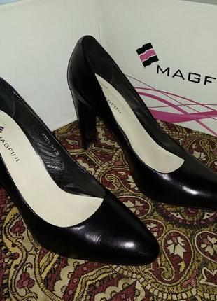 Туфли кожаные magfini