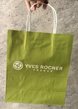 Подарунковий пакет yves rocher