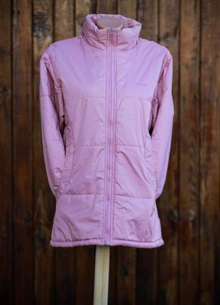 Болоньевая розовая куртка