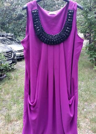 Скидки до -70%, до 15.07. стильное летнее платье, бренд yessica, ожерелье, р. l/xl/xxl