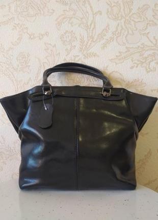 Кожаная роскошная сумка 2020 blak шкіряна́, ремешок на плечо натуральная кожа