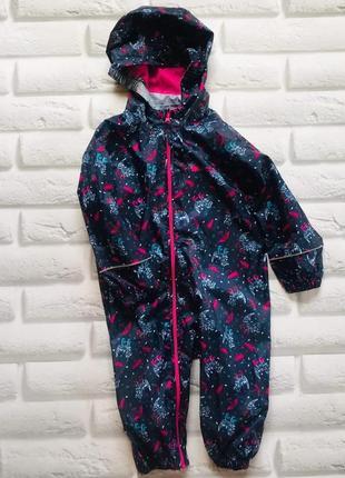 Matalan  стильный комбинезон-дождевик на девочку 3-4 года