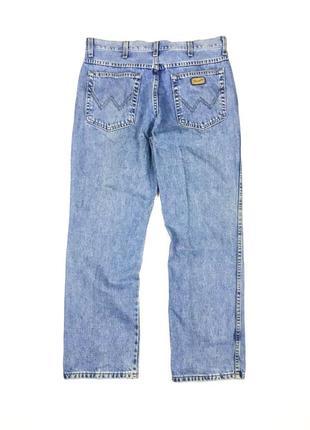 Крутые, винтажные джинсы wrangler