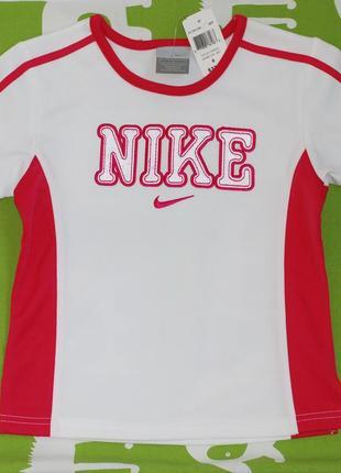 Футболка спортивная nike,оригинал, для девочки,для мальчика,р 6
