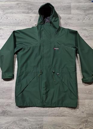 Водоотталкивающая куртка ветровка berghaus gore tex