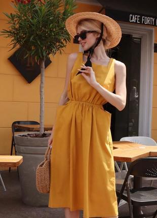 Платье из льна 🌞