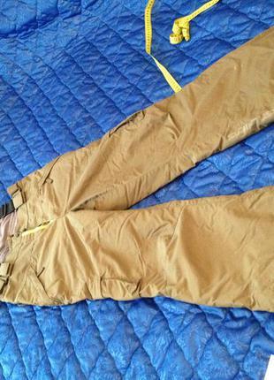 Штаны лыжника на подтяжках, идут на 38-40 размер, очень теплые