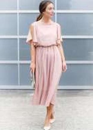 Платье с плиссе купить