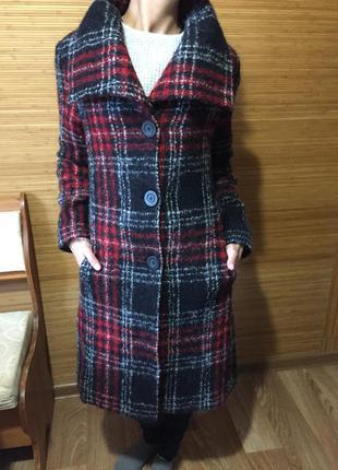 Новое шикарное шерстяное пальто laura ashley 10-12рр оригинал!