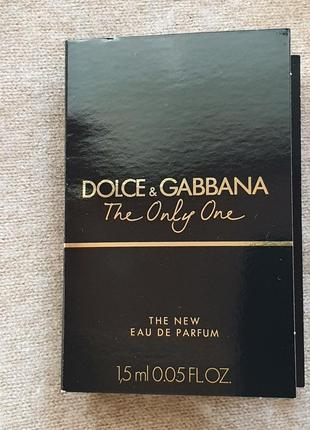 Пробник парфюма dolce & gabbana - the only one