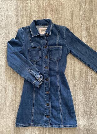Платье zara джинсовое плаття зара