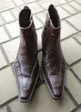Туфли мужские roberto guerrini, 41 (27см)
