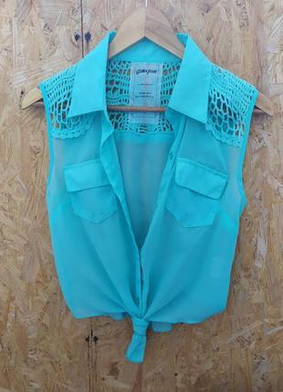 Летняя рубашка/ летняя блуза
