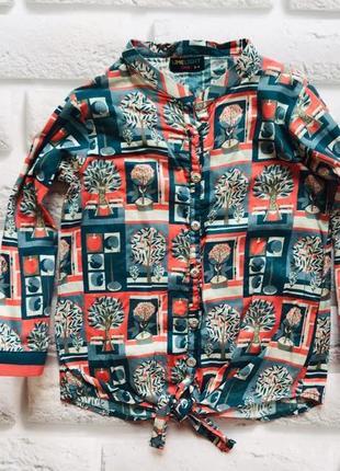 Matalan стильная рубашка на девочку  3-4 года