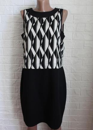 Комбинированное платье dorothy perkins в идеальном состоянии l-xl